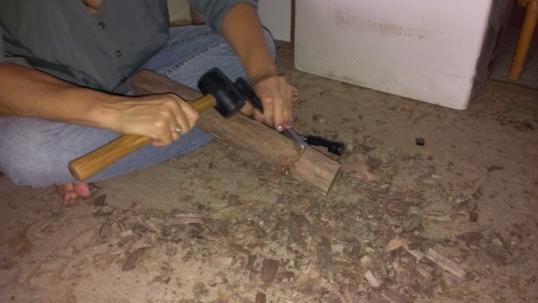 Carving hohoa