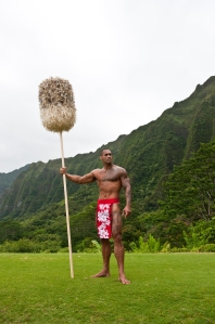 kahili bearer