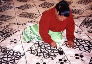 Tongan tapa is ngatu