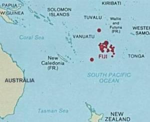 Fiji in Oceania